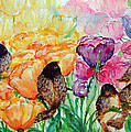 The Birds Of Spring Shower Blessings On You by Ashleigh Dyan Bayer