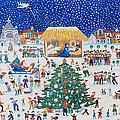 The Birth Of Christ by Gordana Delosevic