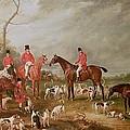The Birton Hunt by John E Ferneley