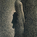 The Black Bow by Georges Pierre Seurat