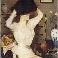 The Black Hat by Frank Benson