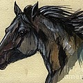 The Black Horse by Angel Ciesniarska