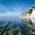 The Black sea coast