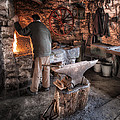 The Blacksmith by Nigel R Bell