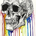 The Bleeding Skull by Molly