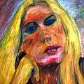 The Blonde 2 by Rachid  Hatni