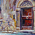 The Blue Bicycle by David Lloyd Glover