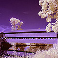 The Blue Bridge by Paul W Faust -  Impressions of Light