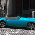 The Blue Car by Michelle Meenawong