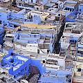 The Blue City Of Jodhpur In India by Robert Preston