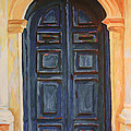The Blue Door Venice by Christine Dekkers