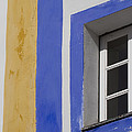 The Blue Framed Window by Heiko Koehrer-Wagner