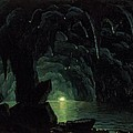 The Blue Grotto by Albert Bierstadt