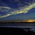 The Blue Hour Sunset by Deb Buchanan