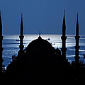 The Blue Mosque by Ayhan Altun