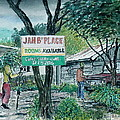 The Blue Mountains Of Jamaica by Frank Hunter