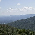 The Blue Ridge - View From The Terrapin Mountain Overlook by MM Anderson