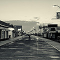 The Boardwalk Before Sunrise In Sepia by Bill Cannon