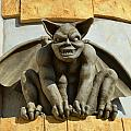 The Boardwalk Of Santa Cruz Gargoyles by Barbara Snyder