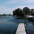 The Boat Dock  by Jo-Ann Hayden
