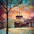 The Boat In Winter by Tara Turner