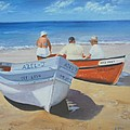 The Boaters by Susie Bell