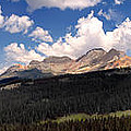 Mountain Pass - Colorado by David Perry Lawrence