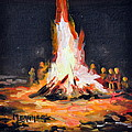The Bonfire by Spencer Meagher