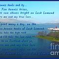 The Bonnie Banks Of Loch Lomond by Joan-Violet Stretch