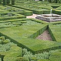 The Boxwood Garden At Chateau Villandry by Christiane Schulze Art And Photography