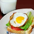 The Breakfast Little People On Food by Paul Ge