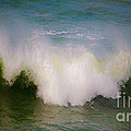 The Breaking Of A Wave ... by Gwyn Newcombe