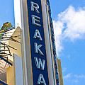 The Breakwater Neon Sign by Ed Gleichman