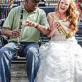 The Bride Plays The Trumpet- Destination Wedding New Orleans by Kathleen K Parker
