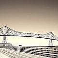 The Bridge At Astoria by David Coleman