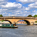 The Bridge At Henley-on-thames by Chris Day