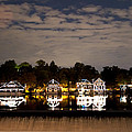 The Bright Lights Of Boathouse Row by Bill Cannon