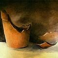 The Broken Terracotta Pot by Michelle Calkins