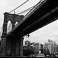 The Brooklyn Bridge New York City East River by Joe Fox