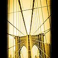 The Brooklyn Bridge New York by Edward Fielding