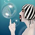 the Bubble man by Mark Ashkenazi