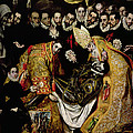 The Burial Of Count Orgaz From A Legend Of 1323 Detail Of A Young Page by El Greco Domenico Theotocopuli