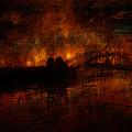 The Burning Of Sydney by Kim Gauge