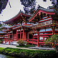 The Byodo-in Temple 2 by Charlene Gauld