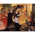 The Cafe Concert by Degas