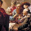The Calling Of St Matthew  by Hendrick Terbrugghen