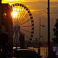 The Capital Wheel In National Harbor by James Granberry