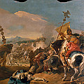 The Capture Of Carthage by Giovanni Domenico Tiepolo
