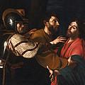 The Capture Of Christ by Bartolomeo Manfredi