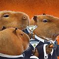 The Capybara Club... by Will Bullas
